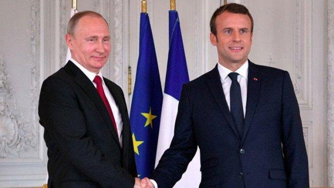 Putin ve Macron, Libya'yı görüştü