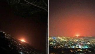 Tahran'da şiddetli patlama!