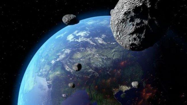 NASA açıkladı: Bu hafta sonu 5 asteroid dünyayı teğet geçecek