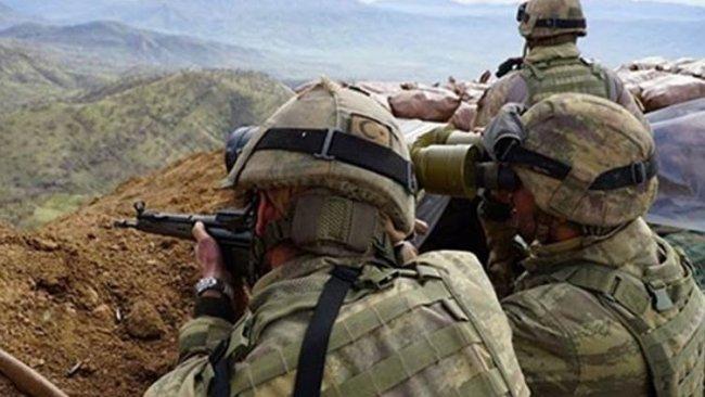 Haftanin'de çatışma: Bir asker hayatını kaybetti