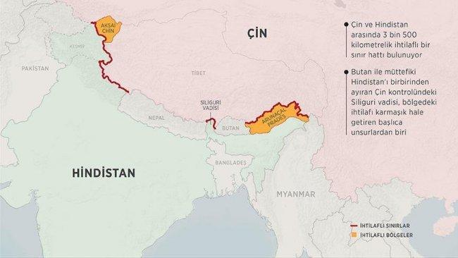 Hindistan, Çin sınırına füze sistemi yerleştirdi