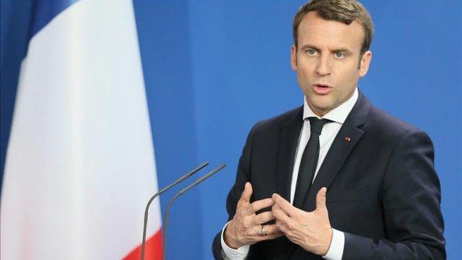 Macron: Türkiye Libya'da cezai sorumluluk taşıyor