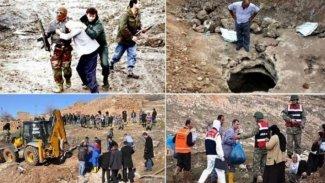 Dargeçit'te 7 köylünün öldürüldüğü JİTEM soruşturmasına takipsizlik