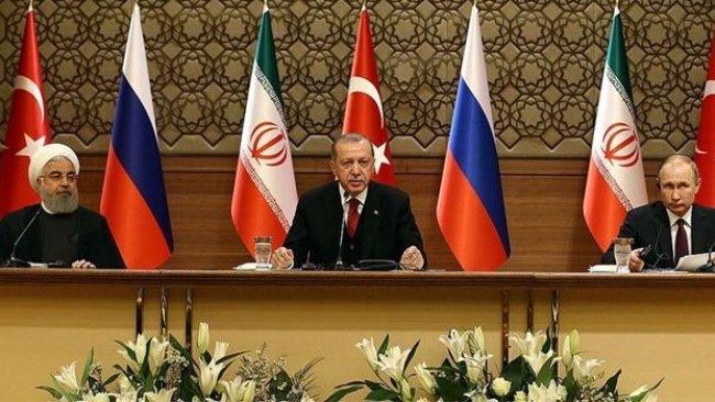 Üçlü Suriye Zirvesi'nde liderlerden ortak açıklama