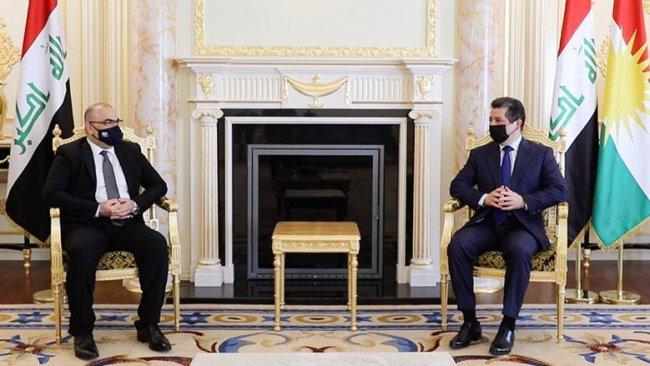 'Kürdistan Bölgesi'nin güçlenmesi tüm Irak'ın yararına'