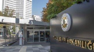 Türkiye Dışişleri Bakanlığı'ndan Mısır'a yanıt