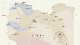 Türkiye'nin Libya'da kurmayı planladığı Vatiyye Askeri Üssü'nü kim vurdu?