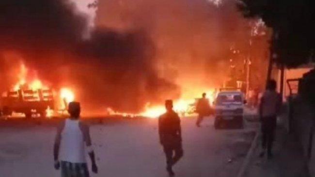 Girê Spî'de bomba yüklü araç patladı: 6 ölü
