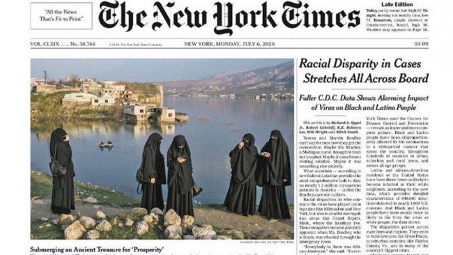 Hasankeyf, New York Times'ın manşetinde: 'Refah için tarihi bir hazineyi batırmak'