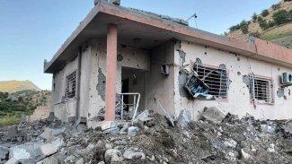 Kürdistan Parlamentosu heyeti, savaş uçaklarının vurduğu bölgede