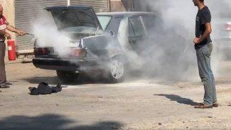 Urfa'da bir araçta patlama