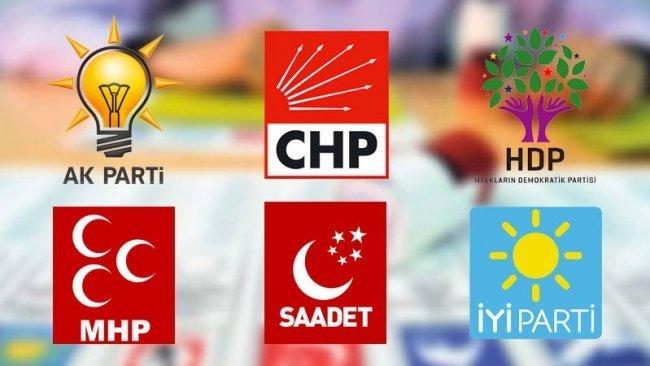 Anket: 3 parti öne çıkıyor, İYİ Parti, MHP ve HDP sürprizi