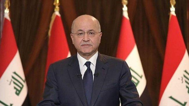 Irak Cumhurbaşkanı Berhem Salih'ten Türkiye'nin operasyonlarına tepki