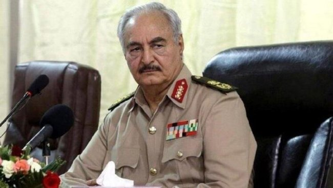 Halife Hafter: Libya'ya silah ve asker sevkiyatına izin vermeyeceğiz