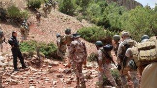 Zaho sınırında mayına basan asker yaralandı