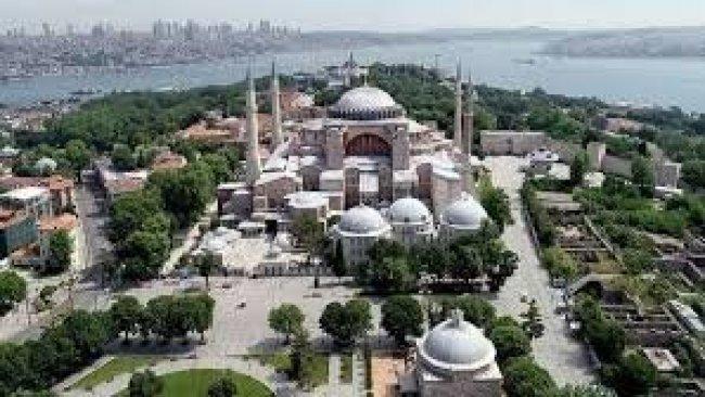 Ayasofya'ya Kayyumu (1453) Ayasofya Kilisesi-camii, Müslüman ibadeti ve Cennet yalanı