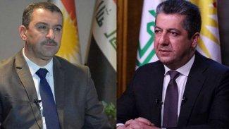 Süleymaniye Valisi'nden Başbakan Mesrur Barzani'ye teşekkür