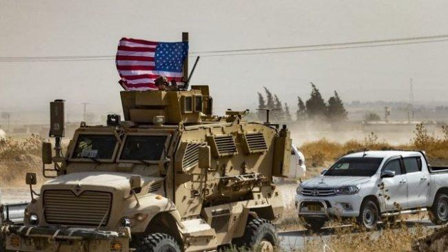 Suriye askerleri Kamışlo'ya giden ABD konvoyuna ateş açtı
