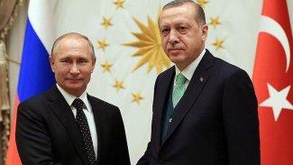 Erdoğan ve Putin'den 'Libya ve Suriye' görüşmesi