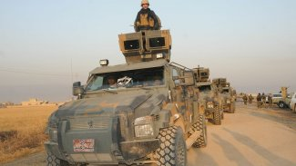 Peşmerge'den YNK anti terör timlerinin yol verdiği Irak güçlerine engelleme
