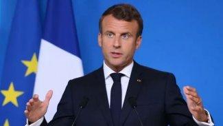 Macron: Akdeniz'de kaderimizi başka güçlerin eline bırakamayız