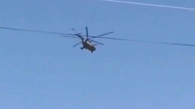 'Rus helikopteri Türkiye-Ermenistan sınırında devriye attı'