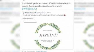 Wikipedia'da Kürtçe makale sayısı 30 bini aştı