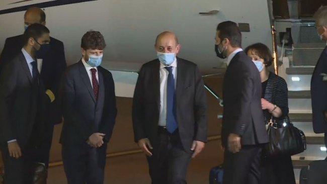 Fransa Dışişleri Bakanı Erbil'de