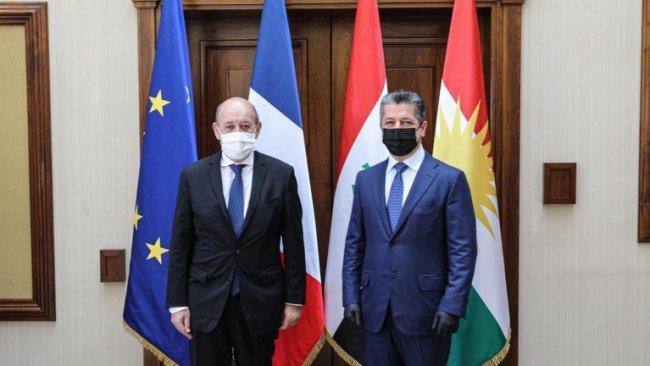 Fransa Dışişleri Bakanı Le Drian: Kürdistan'ı sekizinci ziyaretim