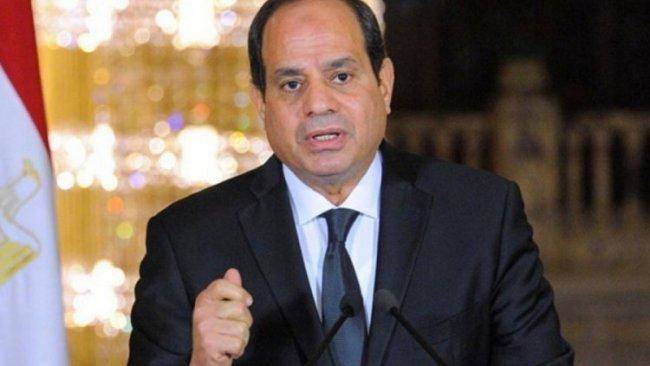 Sisi'den Libya açıklaması: Elimiz kolumuz bağlı durmayacağız!