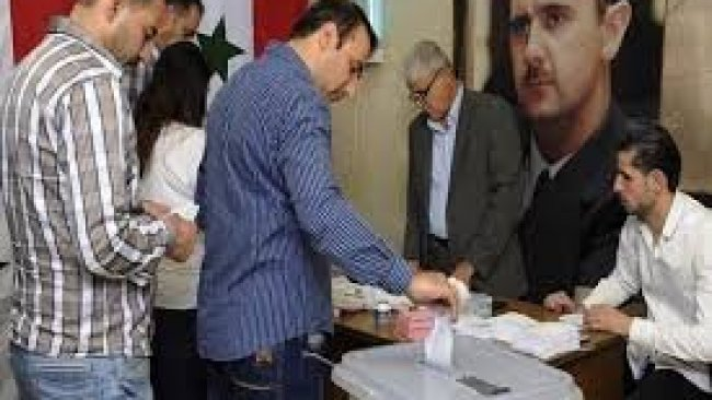 Suriye'de seçimler başladı