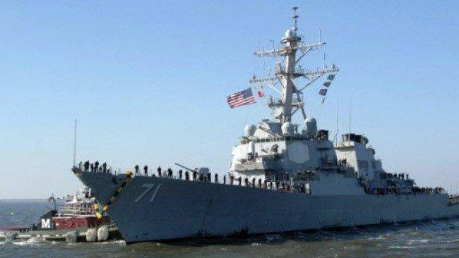 ABD savaş gemisi Karadeniz'de