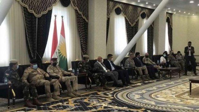 Bağdat heyeti 'Kürdistani Bölgeler' için Erbil'de