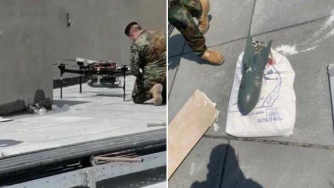 Bağdat'ta bomba yüklü İHA ele geçirildi