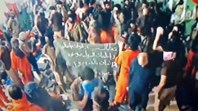 BM: Haseke'de tutuklu IŞİD'liler isyan çıkardı!