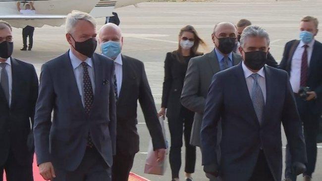 Finlandiya Dışişleri Bakanı Erbil'de