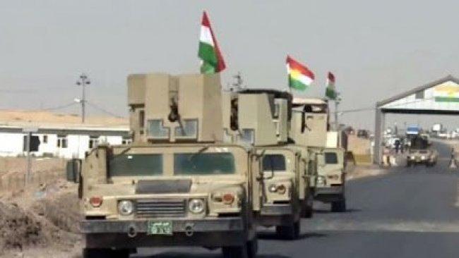 Irak askerlerinin imdadına Peşmerge yetişti