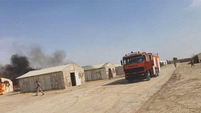 Bağdat'taki bir askeri üsse 4 füze atıldı