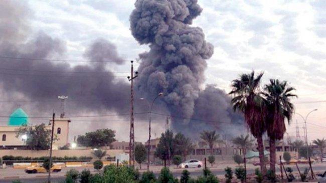 Haşdi Şabi ana karargahında peş peşe patlamalar!