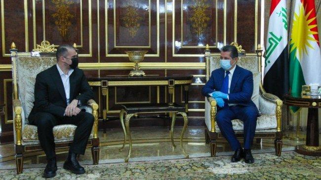 Başbakan Barzani, Bafıl Talabani'yle görüştü