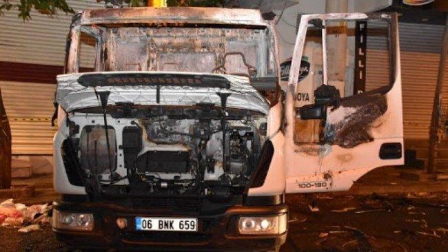 Diyarbakır'da belediye aracına saldırı