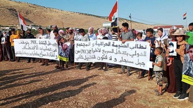 Ezidi Evi: PKK'yi Şengal'den çıkarın