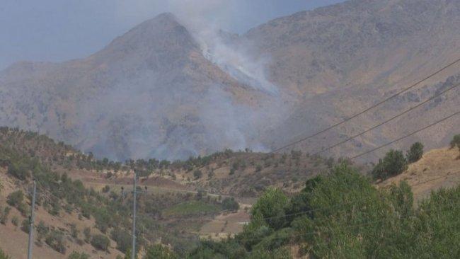 TSK'dan Zaho köyüne top atışı