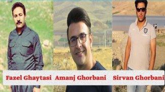 Doğu Kürdistanlı 3 aktiviste hapis cezası