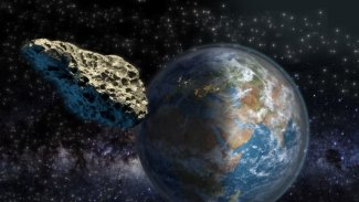 NASA: 190 metrelik bir asteroid Dünya'ya yaklaşıyor