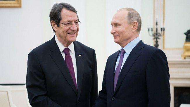 Putin'den Anastasiadis'e Türkiye sözü