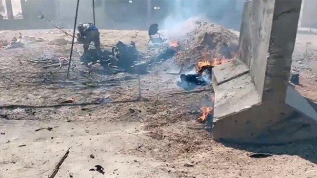 Serê Kanîyê'de şiddetli patlama!
