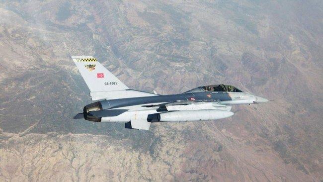 TSK'ya ait savaş uçakları Gare'yi bombaladı