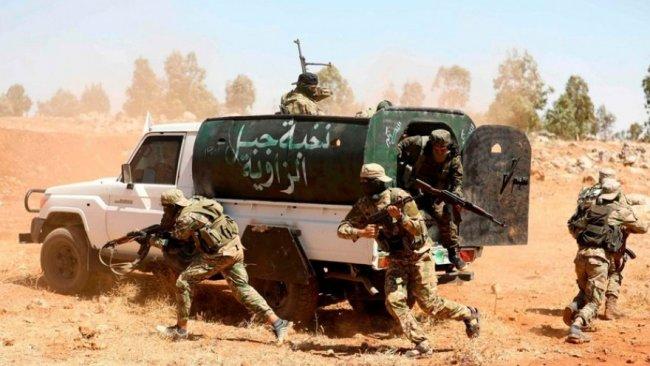Suriye rejim güçleri ile HTŞ arasında çatışma