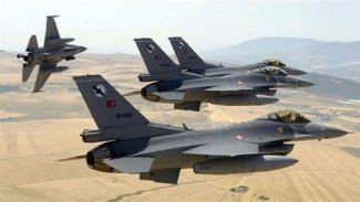 Savaş uçakları Süleymaniye'nin Şarbajêr bölgesini bombaladı